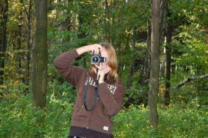 умение красиво фотографировать